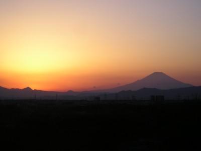 平成20年2月10日の富士山