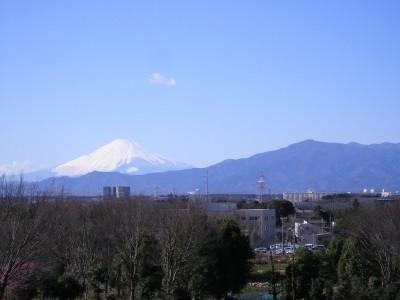 平成21年2月1日の富士山 昼頃